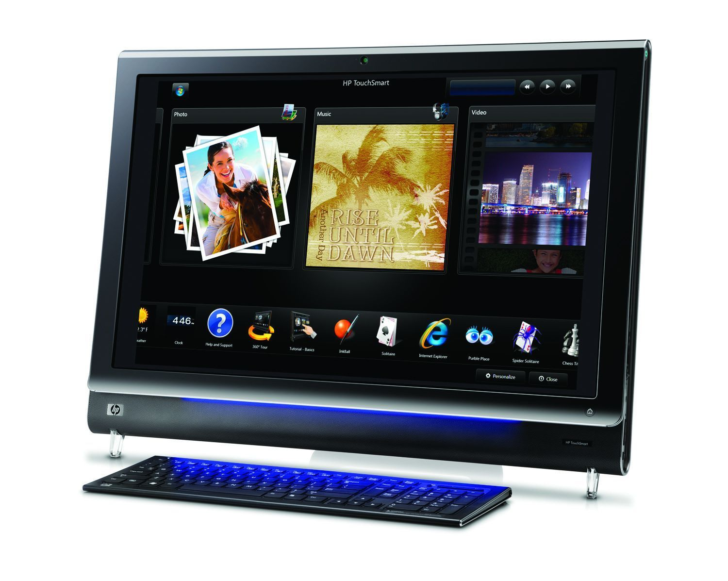 "Komputer dotykowy 22"" All-in-one HP NC700AA"
